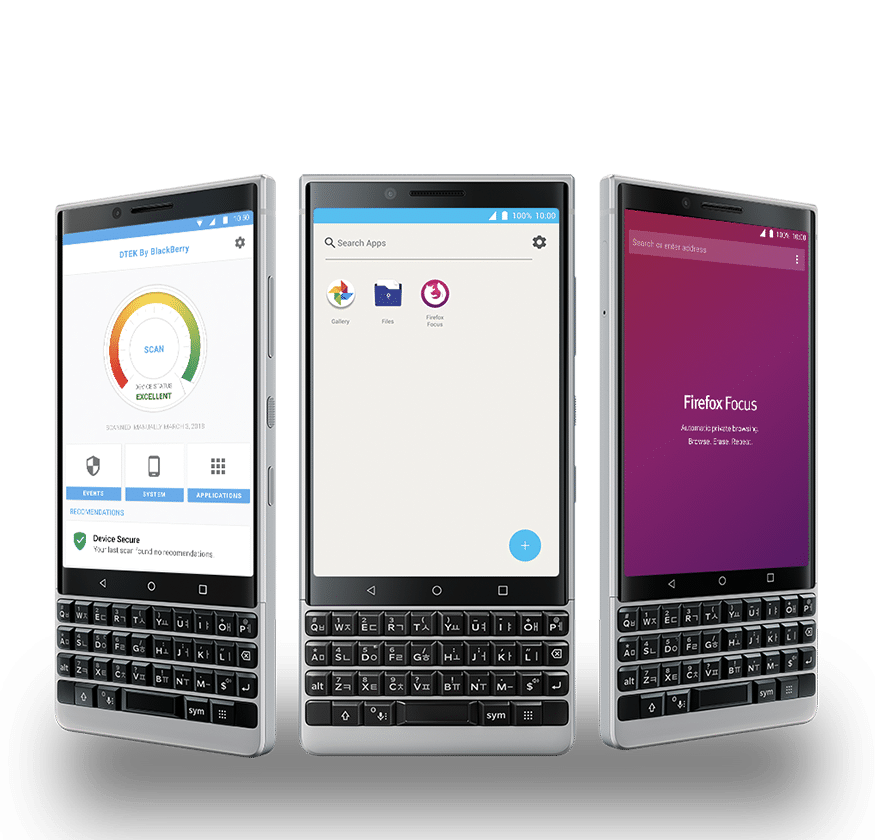 BlackBerry Key2 LE - С клавиатурой лучше!