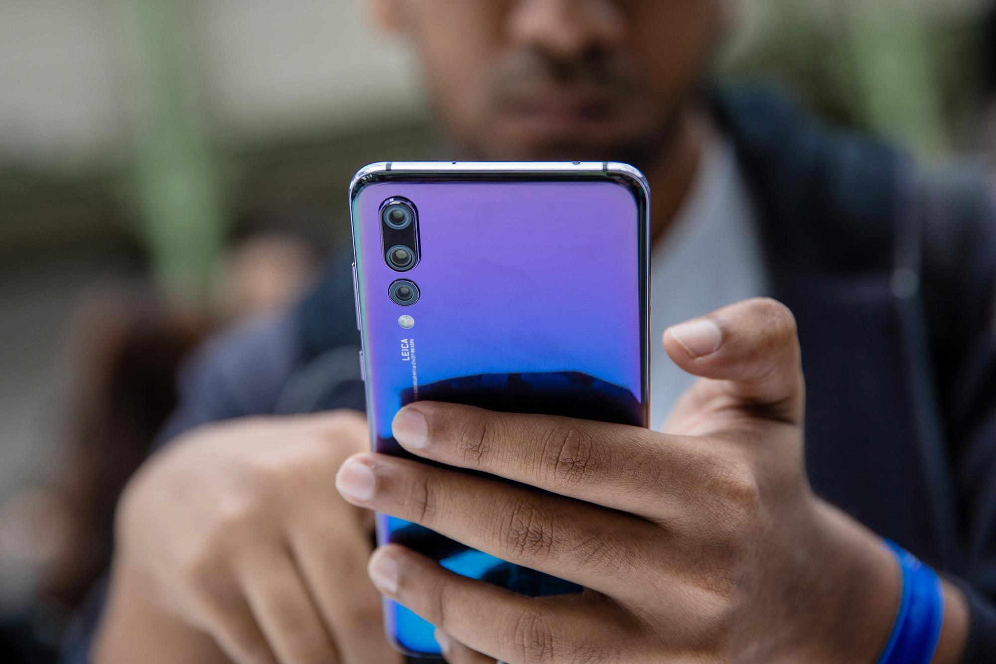 Как выключить телефон Huawei
